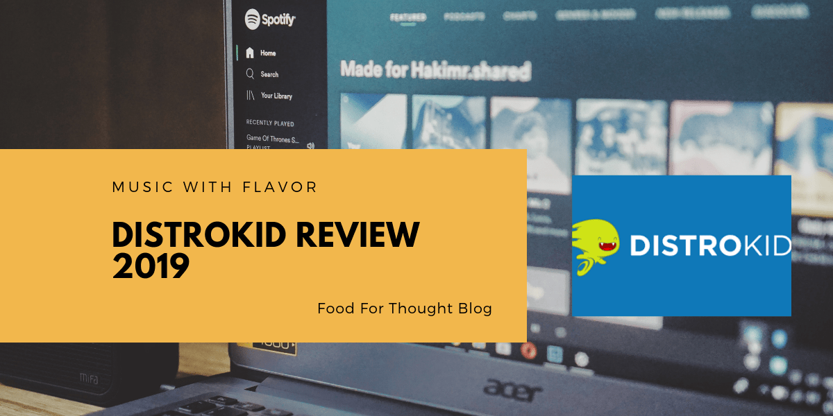 DistroKid Review 2019 - Music With Flavor