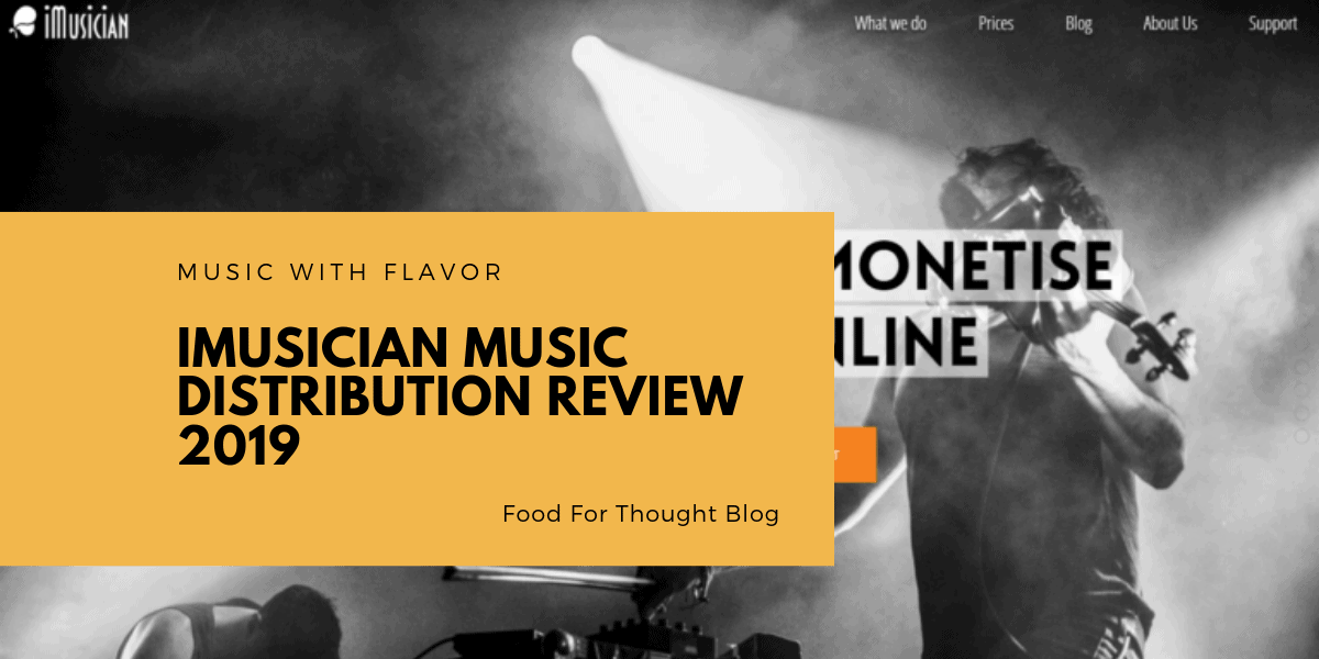 iMusician Music Distribution Review 2019